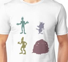 Natives - Oddworld Coloured Silhouettes Unisex T-Shirt