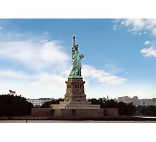 Statue of Liberty, Ellis Island Photographic Print