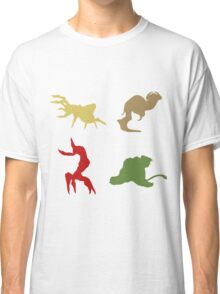 Wildlife - Oddworld Coloured Silhouettes Classic T-Shirt