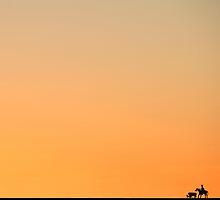 Amarillo Dawn by Mitchell Tillison
