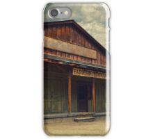 Old West - Paramount Ranch iPhone Case/Skin