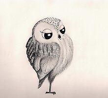Fancy Owl...is fancy by InkyDreamz