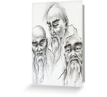 Wise Men Greeting Card
