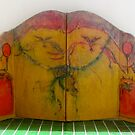 Cats.4 panel folding screen  by georgevye