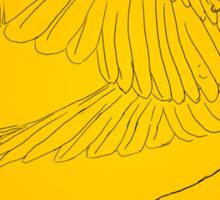 Icarus Gainst the Sun Sticker