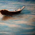 Solitary Boat by Marilyn Healey