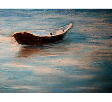 Solitary Boat Photographic Print