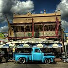 Blue Truck - Windsor, NSW by Dilshara Hill