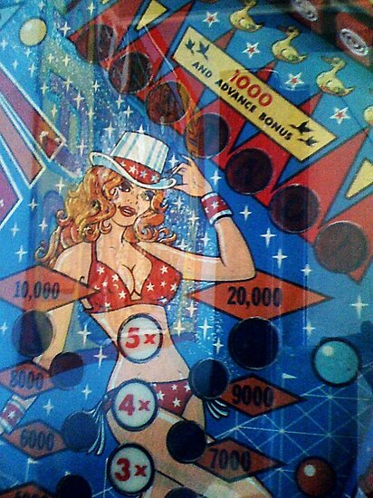 Pinball Machine Detail by SylviaS