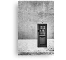Number Four Canvas Print