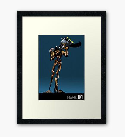 Killborg 01: Hans Framed Print