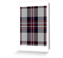 00794 Buckleigh Dress Tartan  Greeting Card