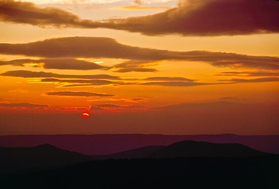 Blue Ridge Parkway Sunrise by Joe Elliott