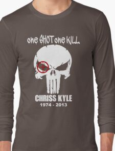 one shot one kill Long Sleeve T-Shirt