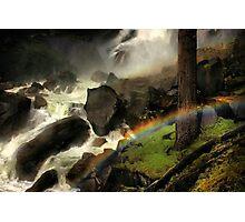 Mist Trail Photographic Print