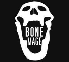 Bone Mage Skull Shirt by LeafyElfreda