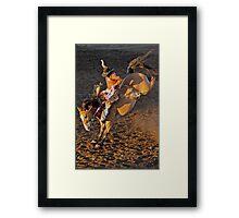 Riding High Framed Print