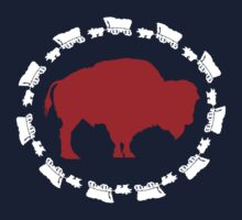 Buffalo Bills - Circle the Wagon Kids Tee