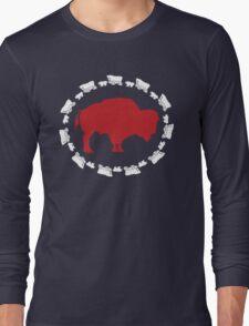 Buffalo Bills - Circle the Wagon Long Sleeve T-Shirt