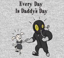 BioShock – Every Day is Daddy's Day Poster (Black) One Piece - Long Sleeve