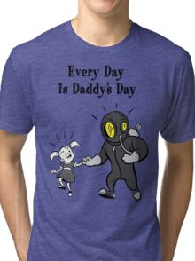 BioShock – Every Day is Daddy's Day Poster (Black) Tri-blend T-Shirt