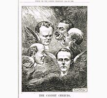 The Cabinet Cherubs Punch Cartoon 1908 T-Shirt