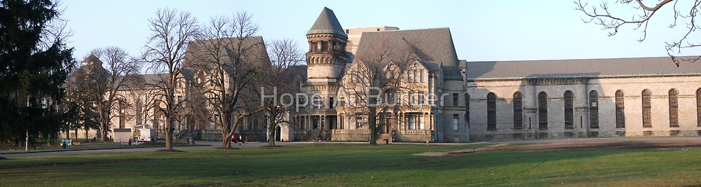 Ohio State Reformatory ~ Mansfield, Ohio by Hope A. Burger
