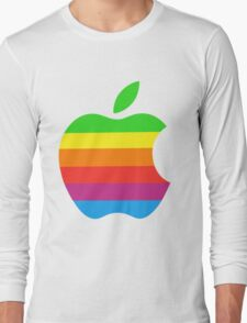 Apple Color iPhone Long Sleeve T-Shirt