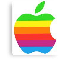 Apple Color iPhone Canvas Print