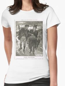 Socialism & Old Liberalism Punch 1909 Womens Fitted T-Shirt