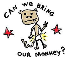Can We Bring Our Monkey? by Ollie Brock