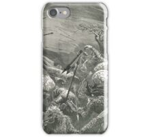 Death of King Harold, Hastings 1066 iPhone Case/Skin