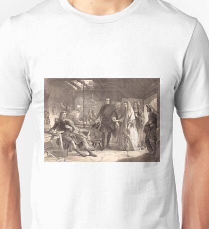 Bonny Prince Charlie Meeting Flora MacDonald 1746 Unisex T-Shirt