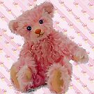 Pretty in Pink teddy by Cazzie Cathcart