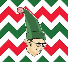 Dwight - Christmas Elf by pickledbeets