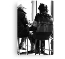 Anything goes, against Winter chill - II Canvas Print