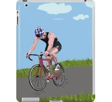 chris triathlon 2015 iPad Case/Skin