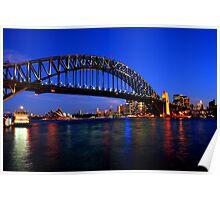 The Splendid Sydney Harbour Bridge Poster