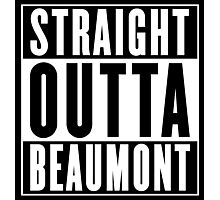 Straight Outta Beaumont  ( Jefferson County, Texas ) Photographic Print