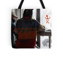 Anything goes, against Winter chill! Tote Bag