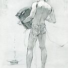 figure with accordion by Natalya   Tabatchikova