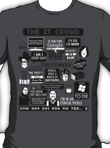 The IT Crowd Quotes T-Shirt