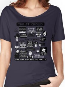 The IT Crowd Quotes Women's Relaxed Fit T-Shirt