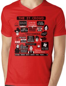 The IT Crowd Quotes Mens V-Neck T-Shirt