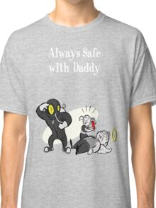 BioShock - Always Safe With Daddy Poster (White) Classic T-Shirt