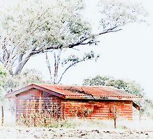 The Old Hut © Vicki Ferrari Photography by Vicki Ferrari