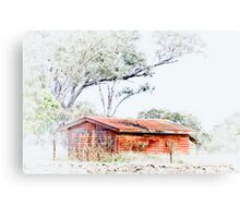 The Old Hut © Vicki Ferrari Photography Canvas Print