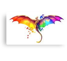 Pride Dragon Canvas Print