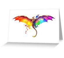 Pride Dragon Greeting Card
