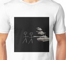 two mimes Unisex T-Shirt